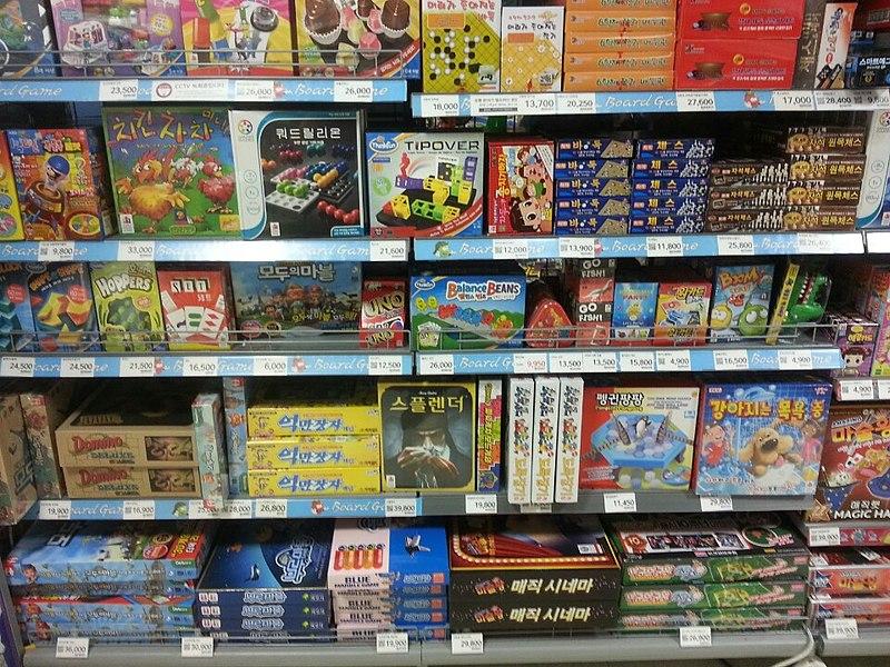 Achat jeux de sociétés
